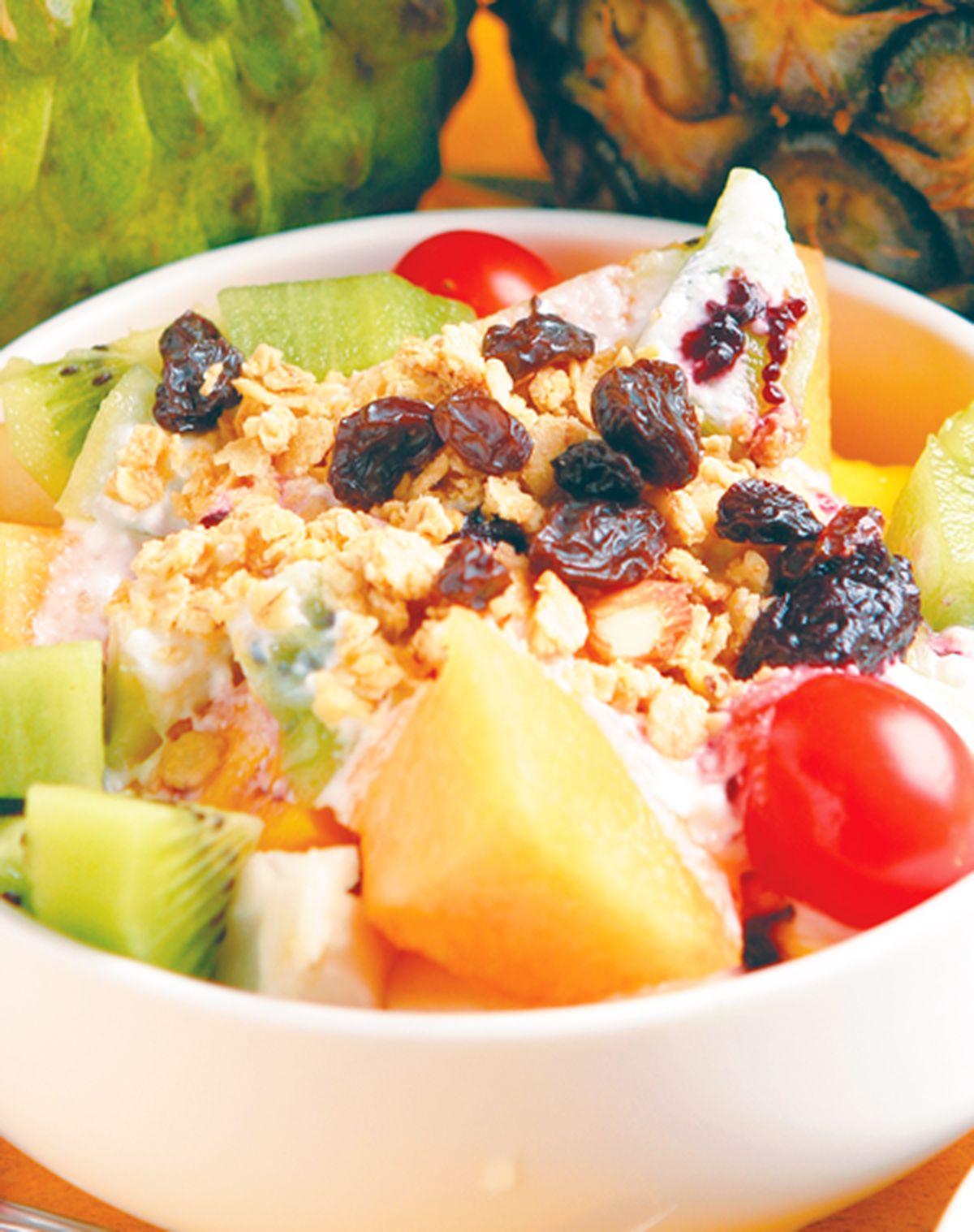 食譜:優格水果沙拉