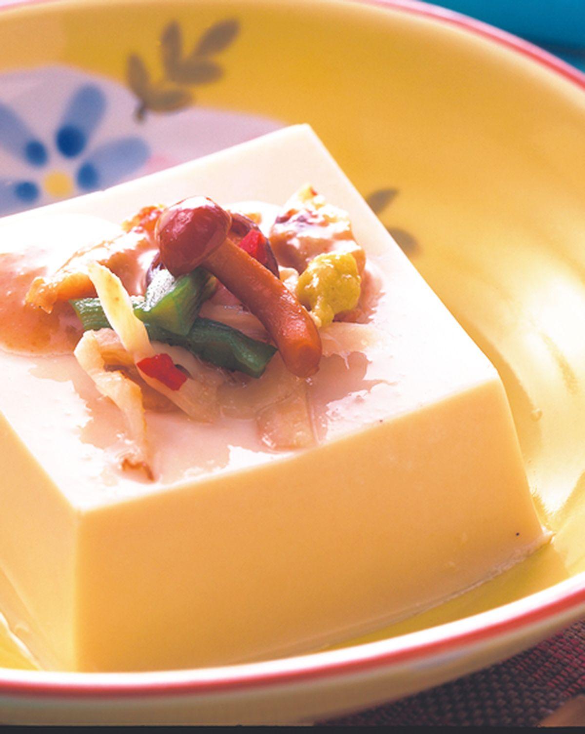 食譜:小菜芝麻豆腐