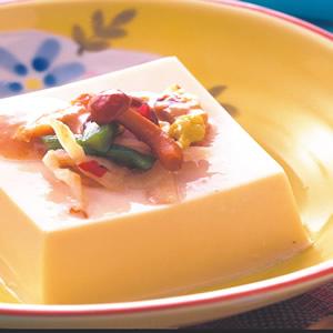 小菜芝麻豆腐