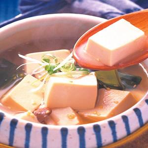 味噌芝麻豆腐