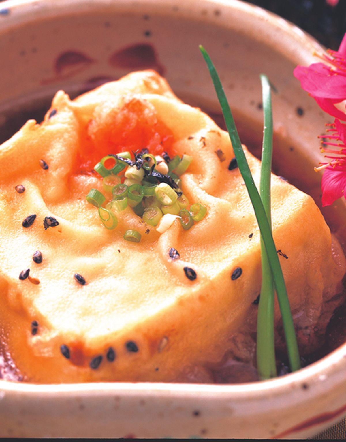食譜:唐揚芝麻豆腐(1)
