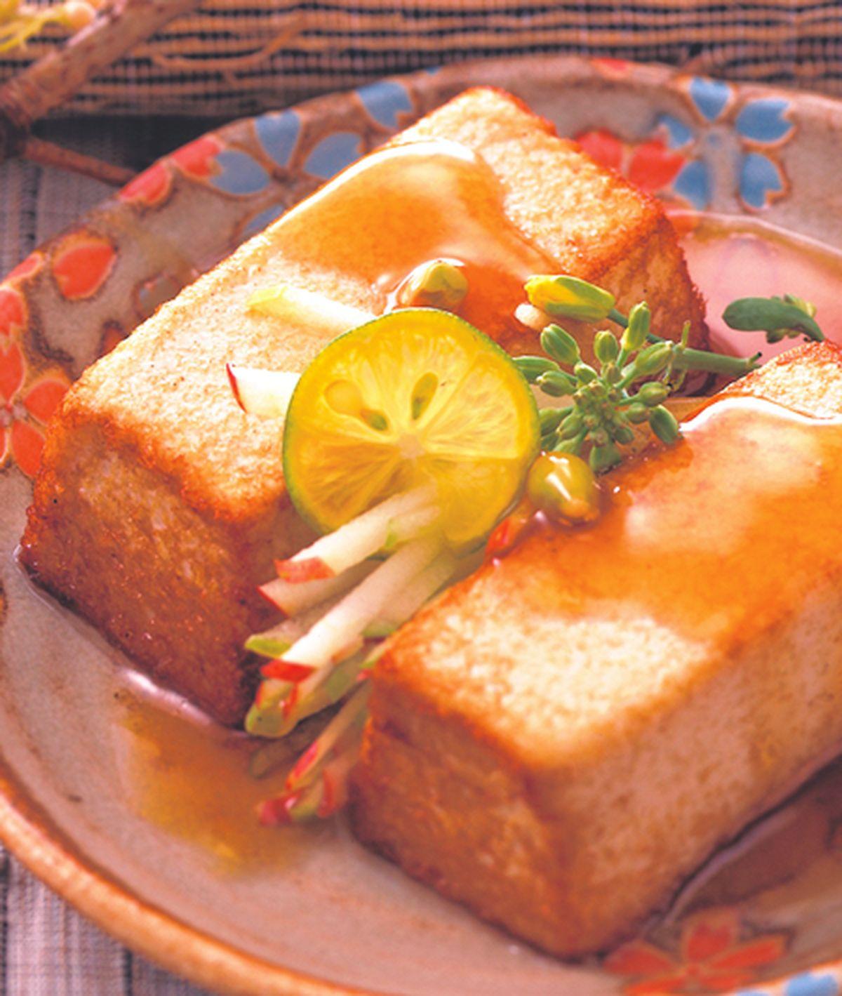 食譜:照燒芝麻豆腐