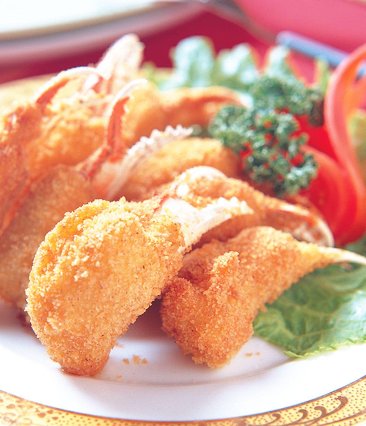食譜:酥炸蟹螯