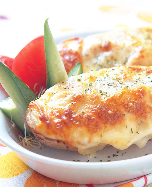 食譜:乳酪培根烤洋芋