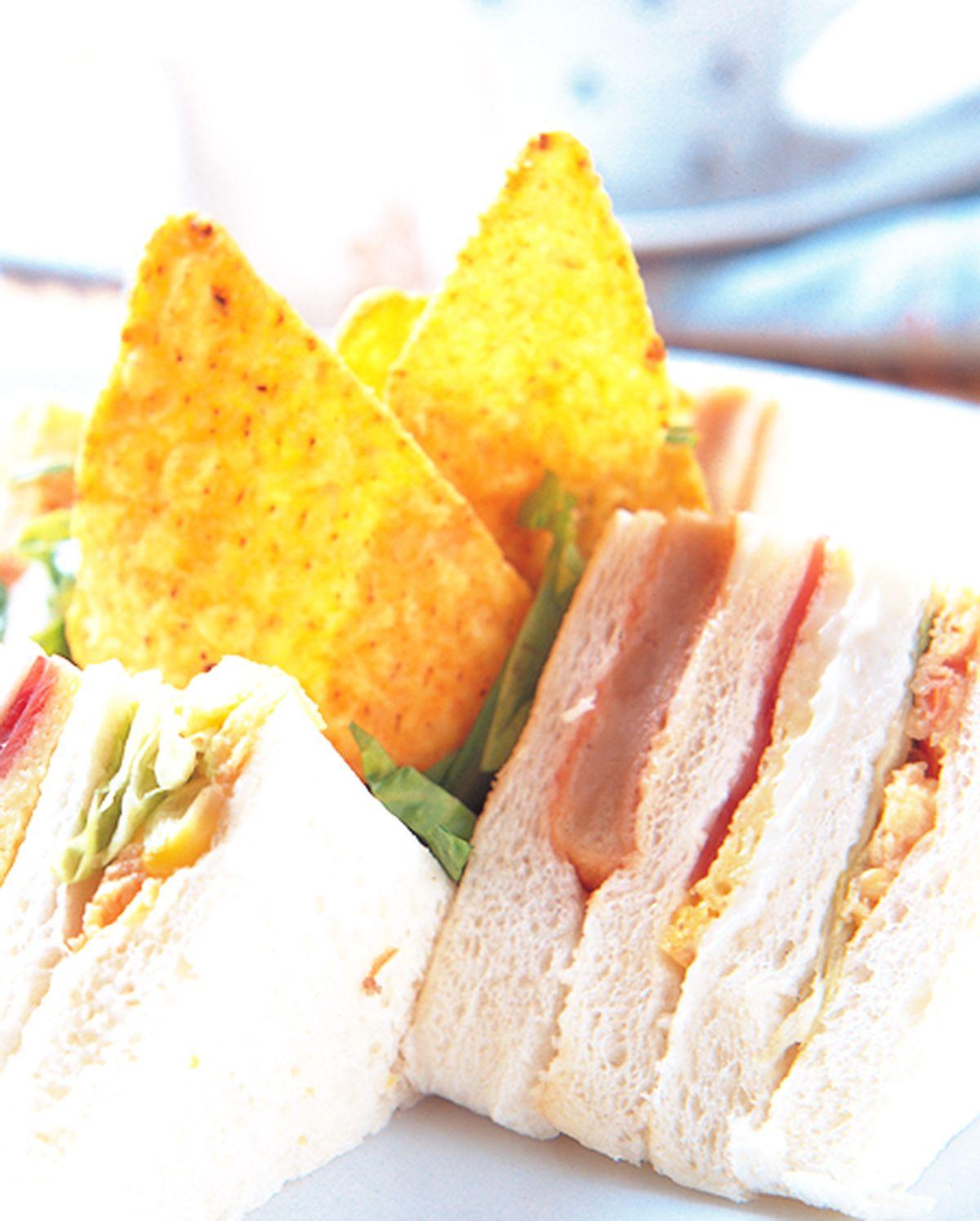 食譜:總匯三明治(3)