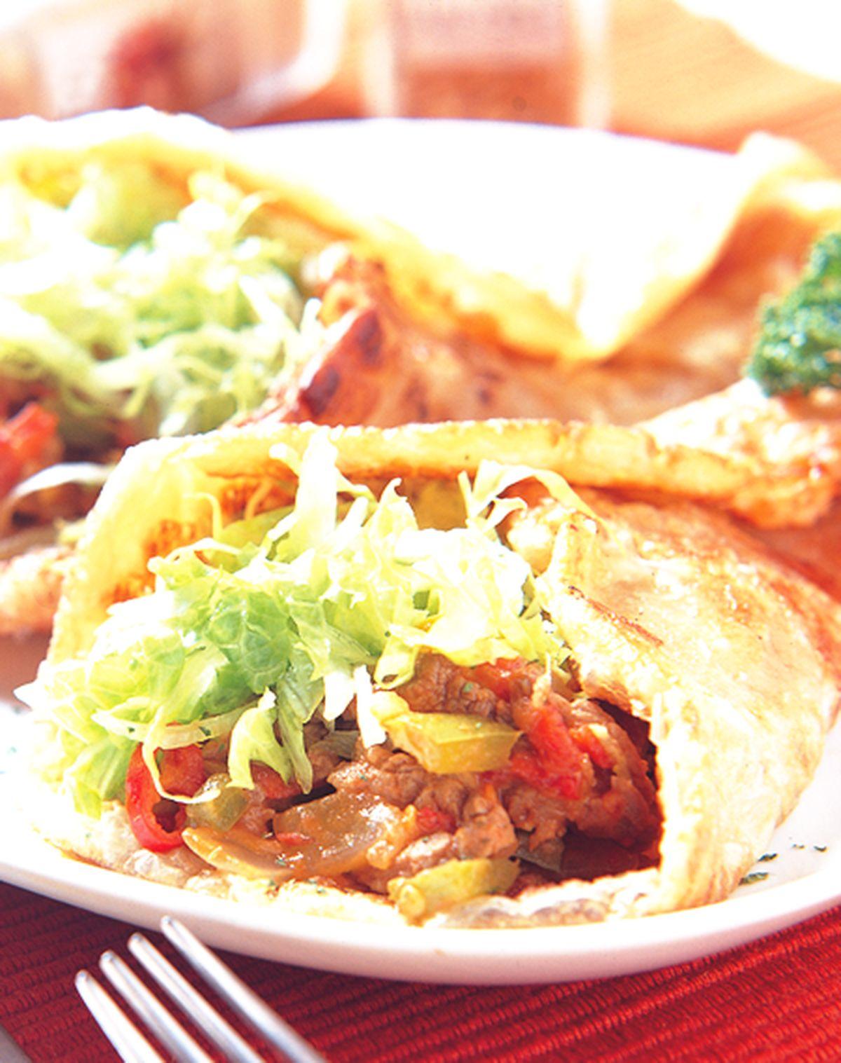 食譜:墨西哥牛肉捲餅