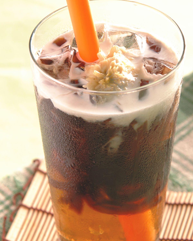 食譜:仙草菊奶茶