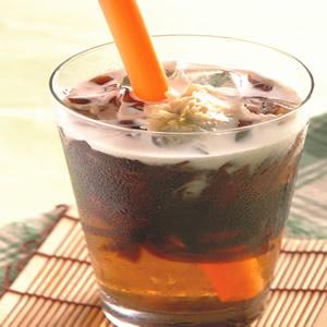 仙草菊奶茶