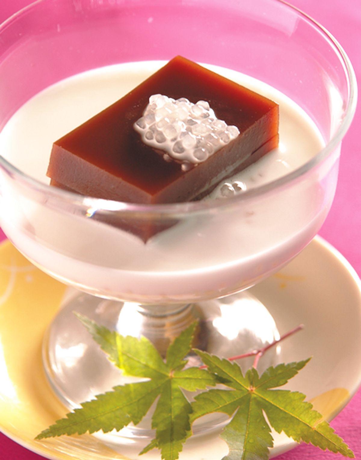 食譜:椰汁紅豆水羊羹