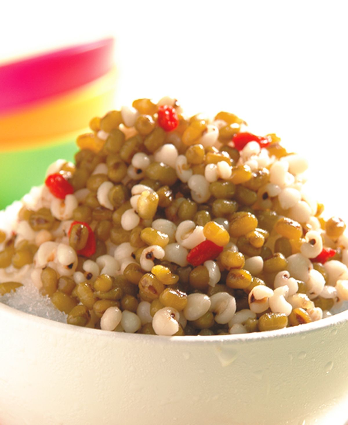 食譜:薏仁綠豆刨冰