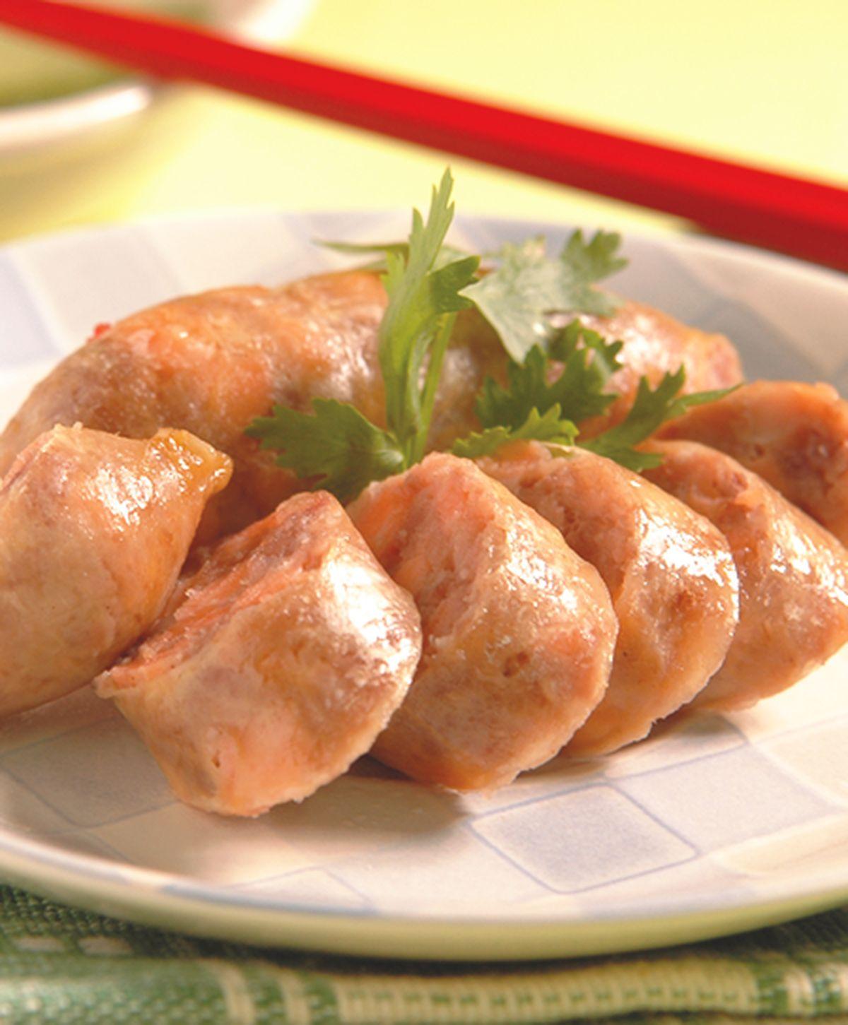 食譜:鮭魚香腸