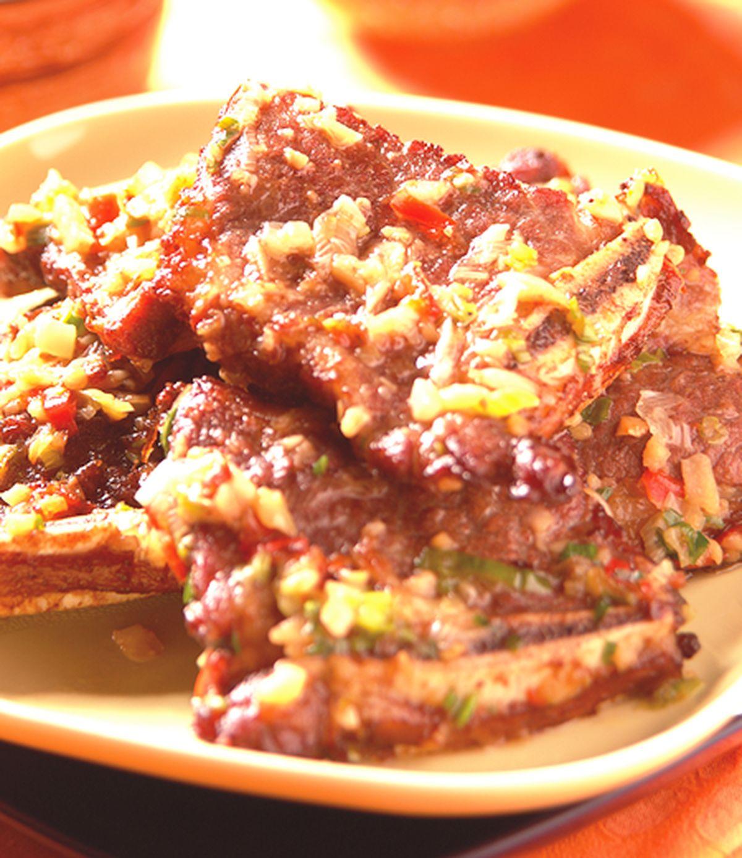 食譜:椒鹽牛小排