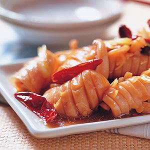 宮保魷魚(1)