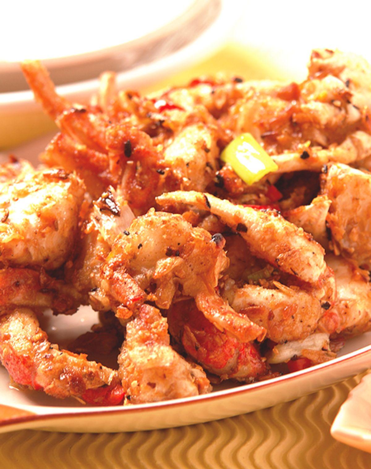 食譜:香炒蟹肉