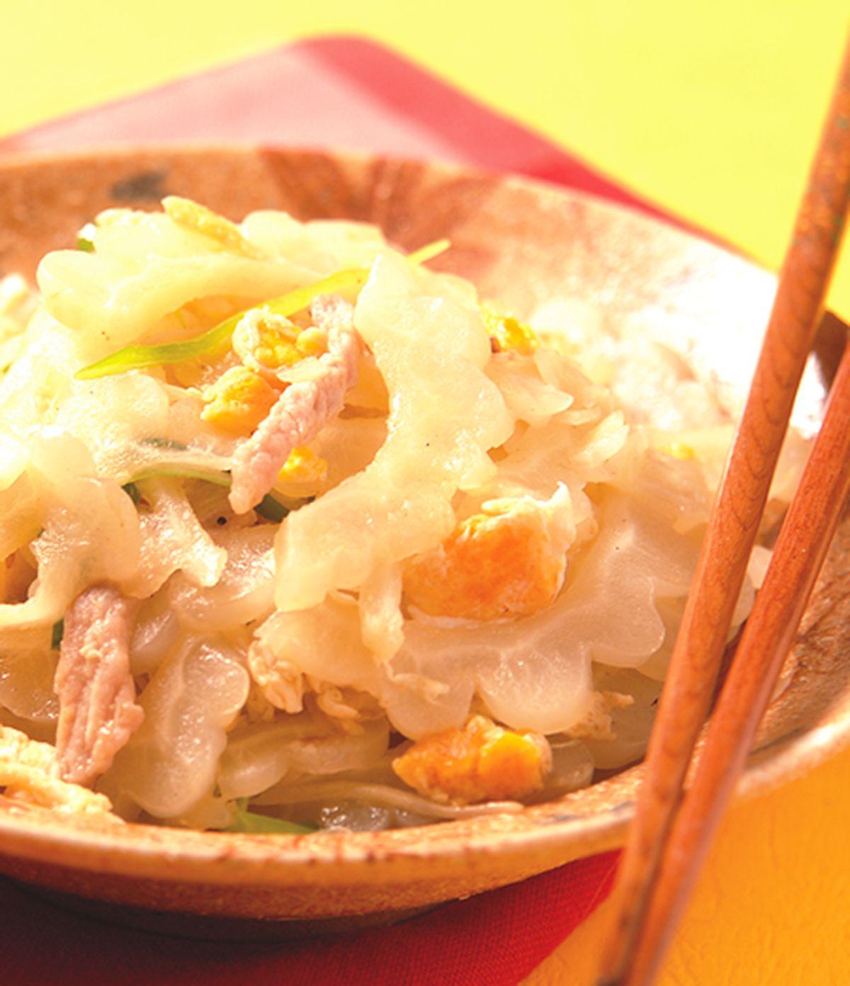 食譜:苦瓜炒鹹蛋