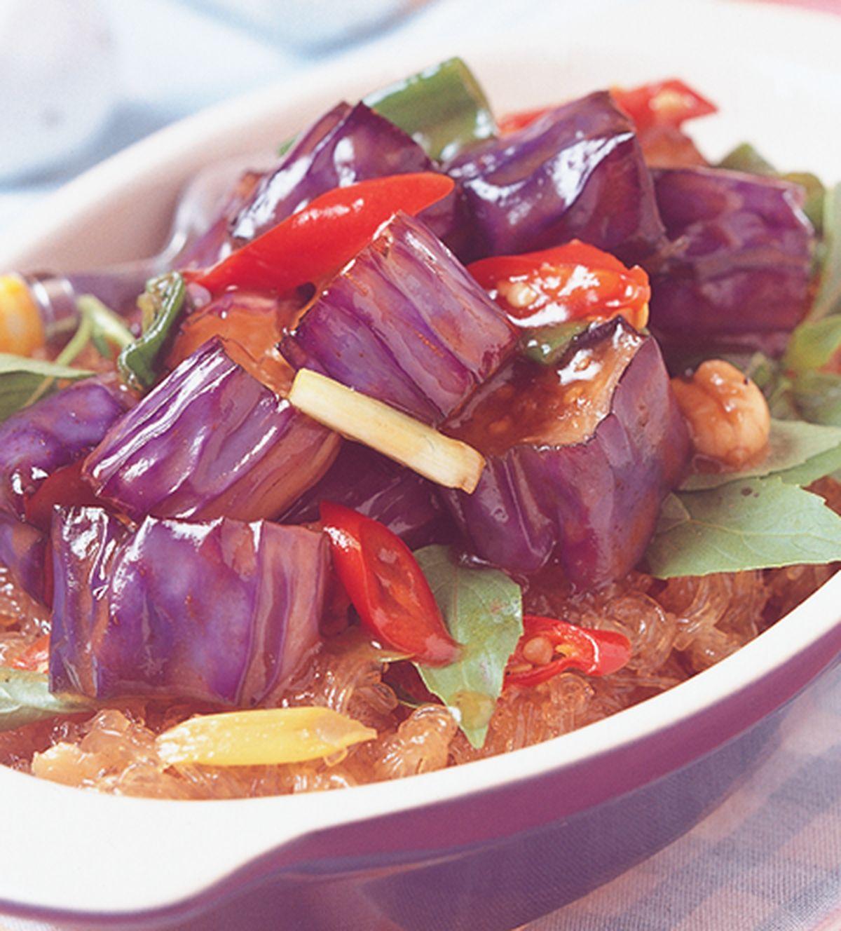 食譜:紅燒茄子煲(1)