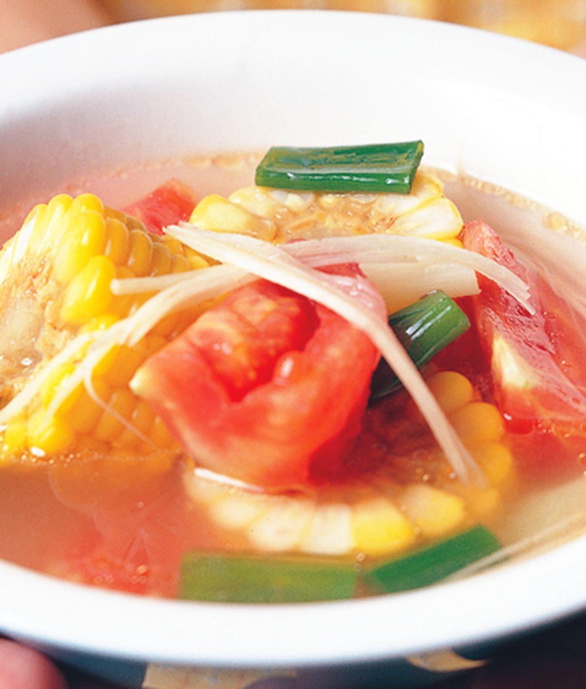 食譜:蕃茄玉米湯