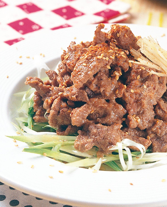 食譜:子薑牛肉