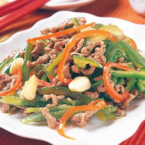 青椒牛肉絲(1)
