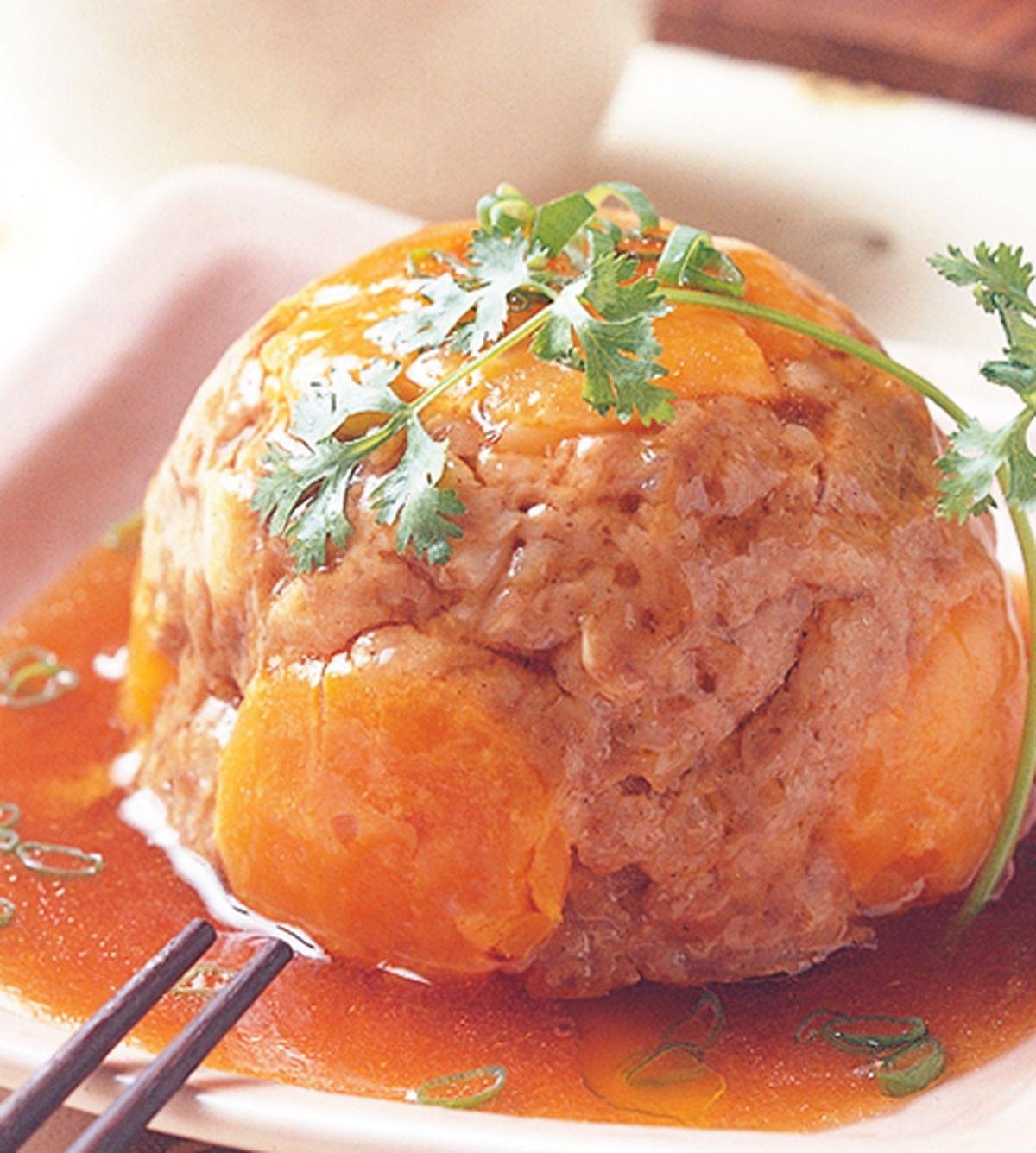 食譜:蛋黃蒸肉