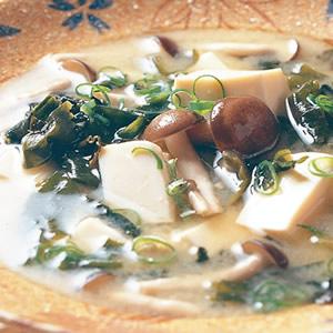 海帶芽味噌湯