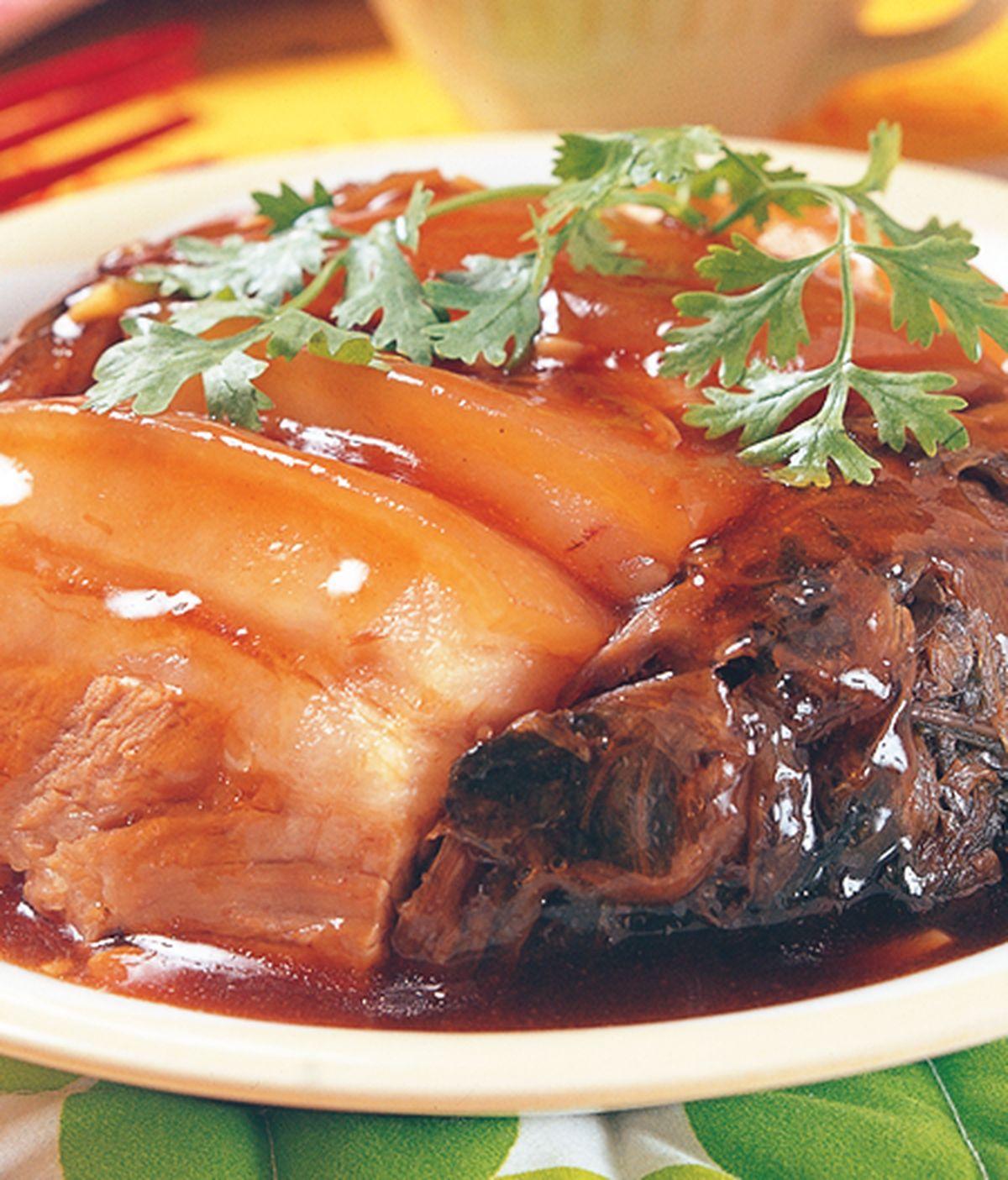 食譜:梅干扣肉(2)