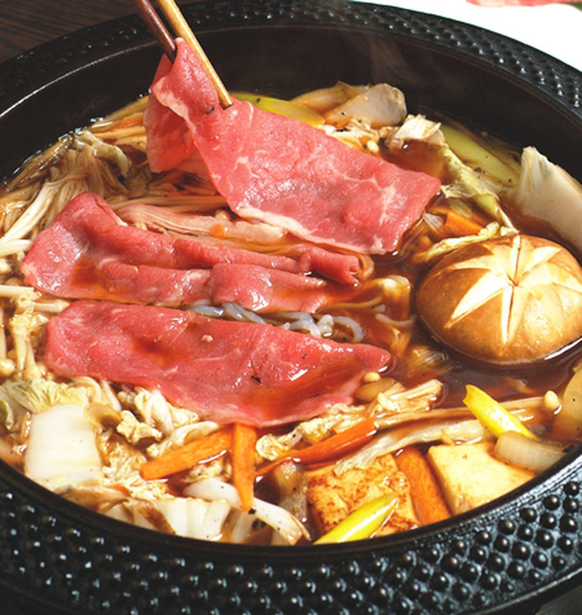 食譜:牛肉壽喜燒