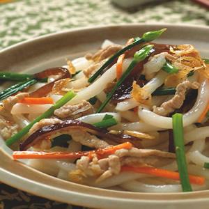 肉絲炒米苔目