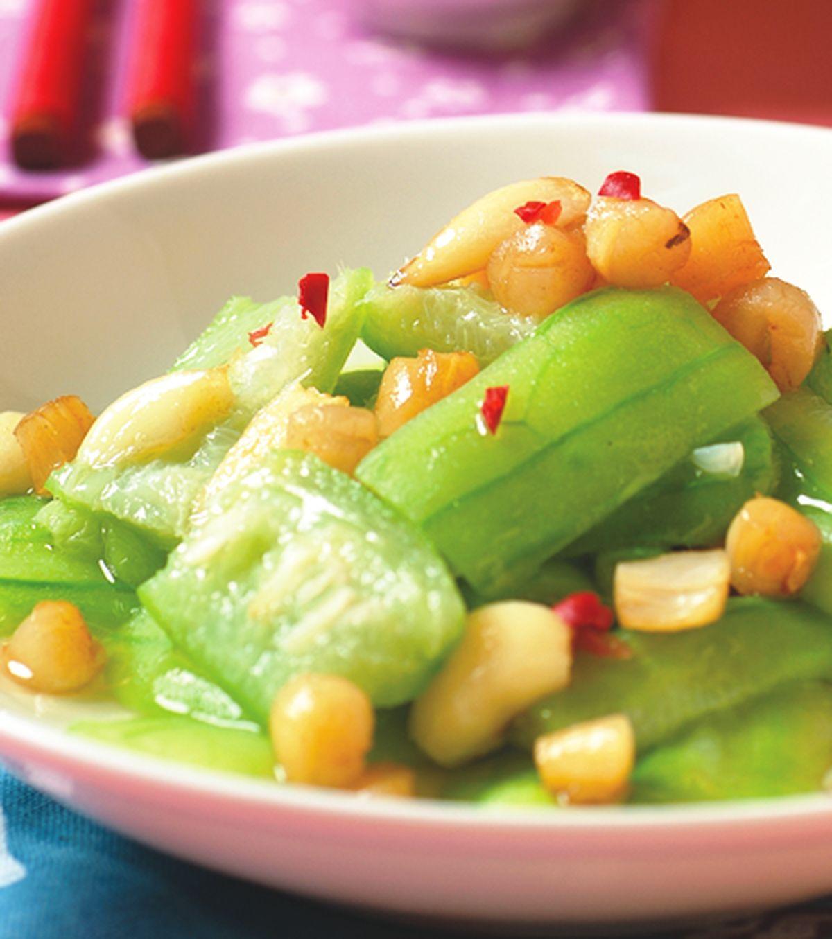 食譜:干貝絲瓜