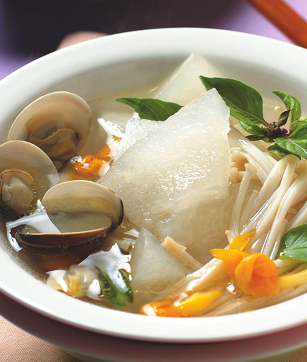 食譜:冬瓜蛤蠣湯