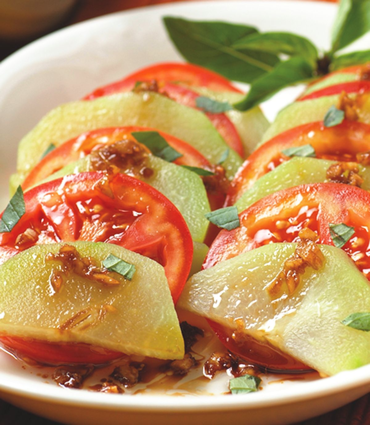 食譜:涼拌紅茄佛手瓜