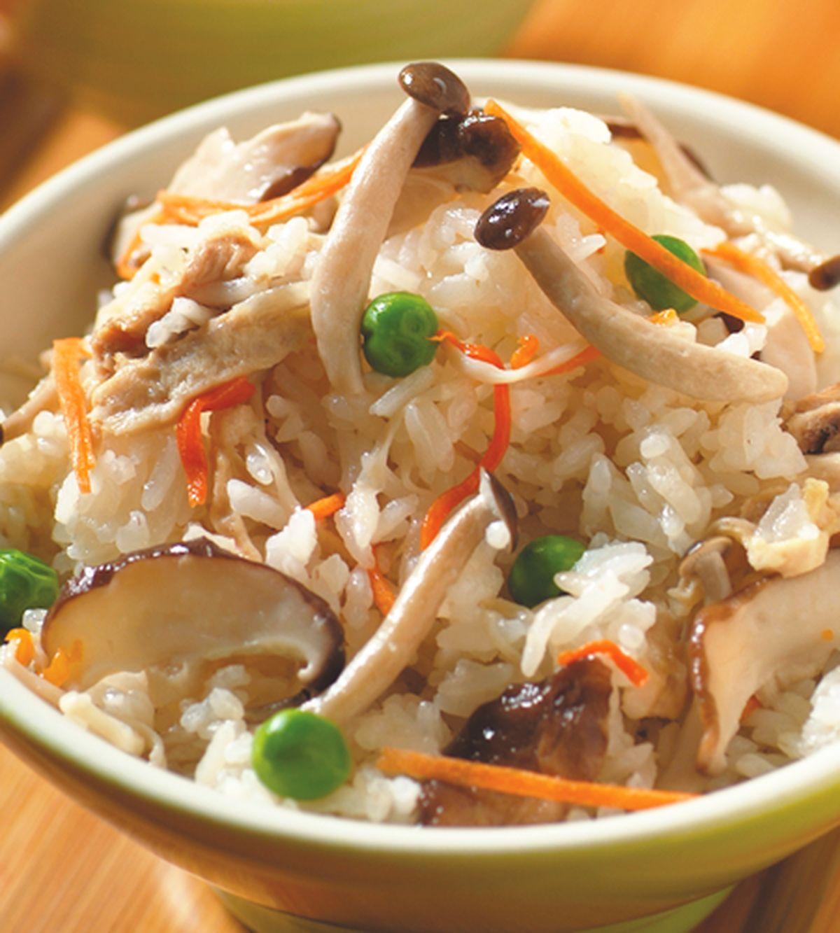 食譜:什錦菇炊飯