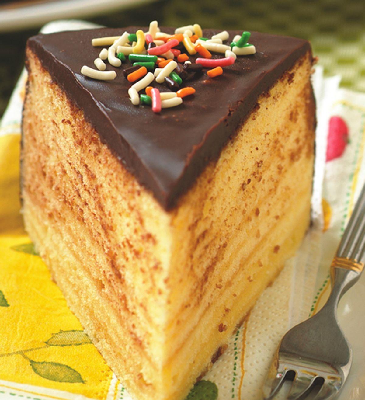 食譜:巧克力年輪蛋糕
