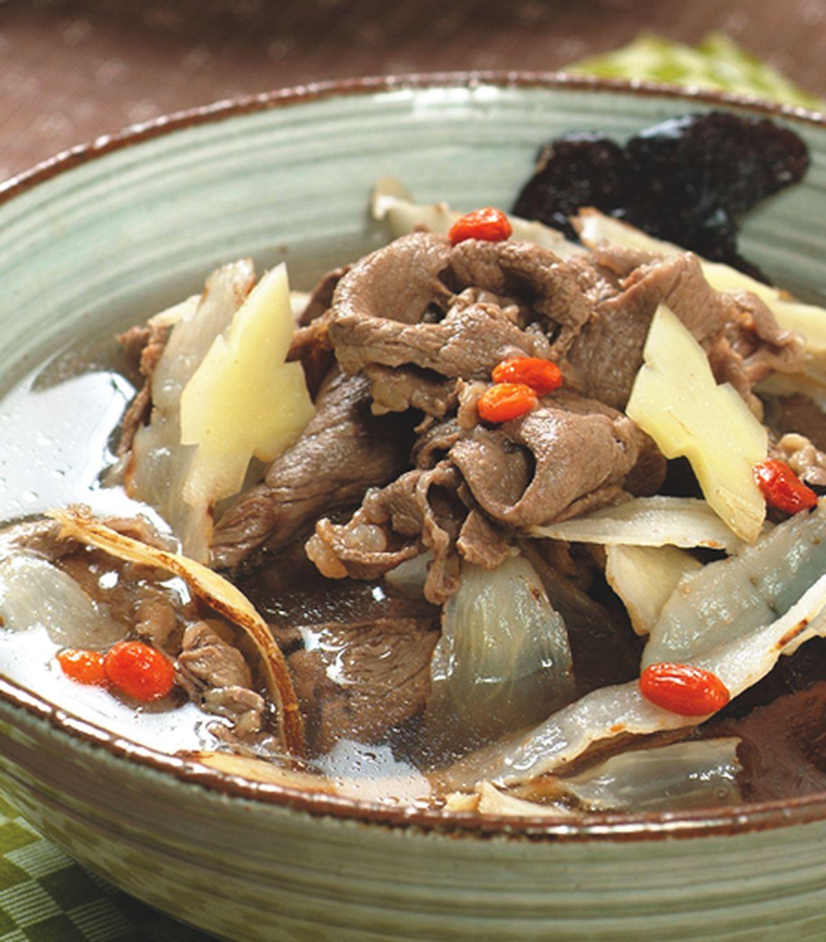 食譜:何首玉竹牛肉湯