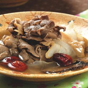 天麻川芎燉牛肉