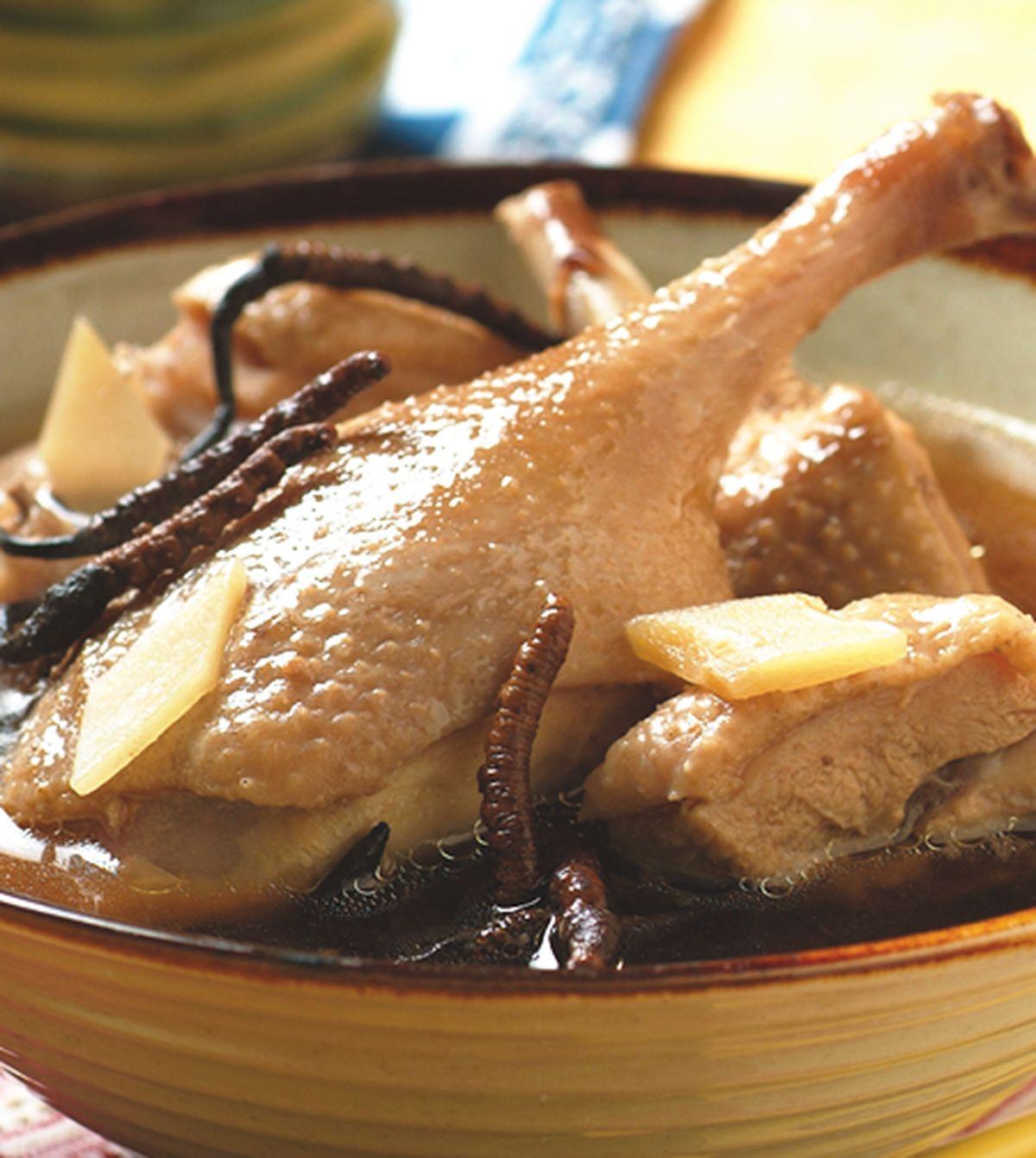 食譜:蟲草燉鴨
