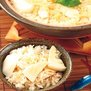 竹筍干貝土鍋飯