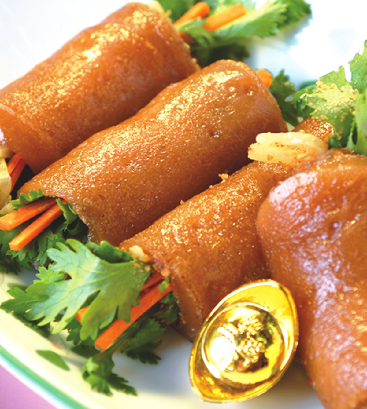 食譜:香煎年糕卷