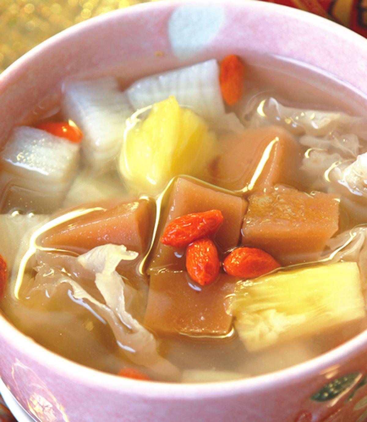 食譜:年糕山藥甜湯