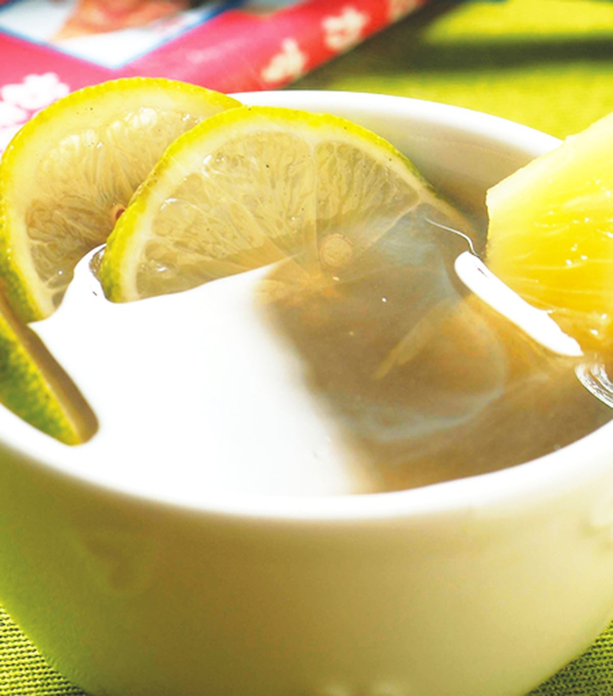食譜:鳳梨檸檬綠茶