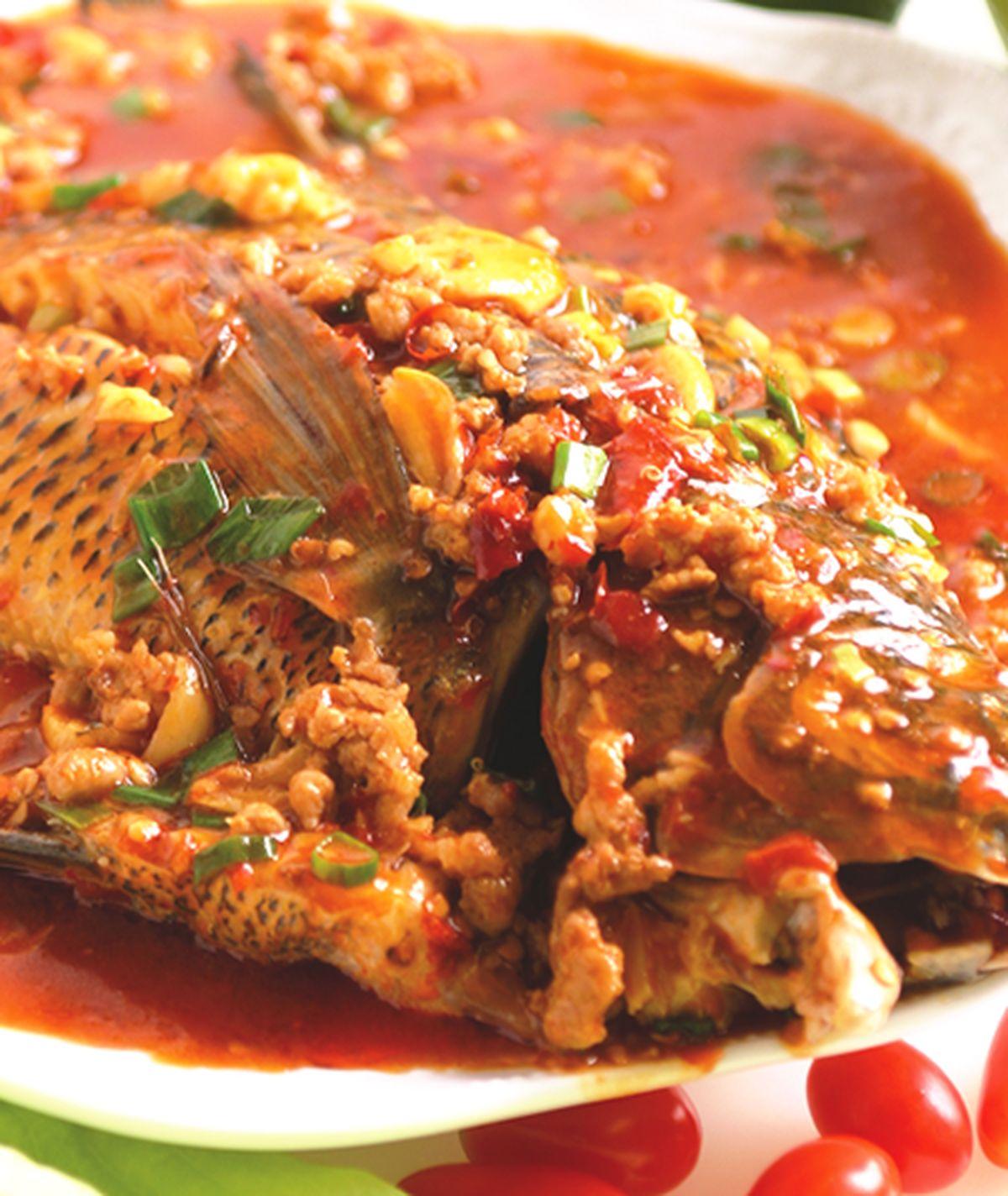 食譜:大蒜魚