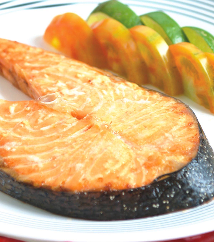 食譜:烤鮭魚(1)