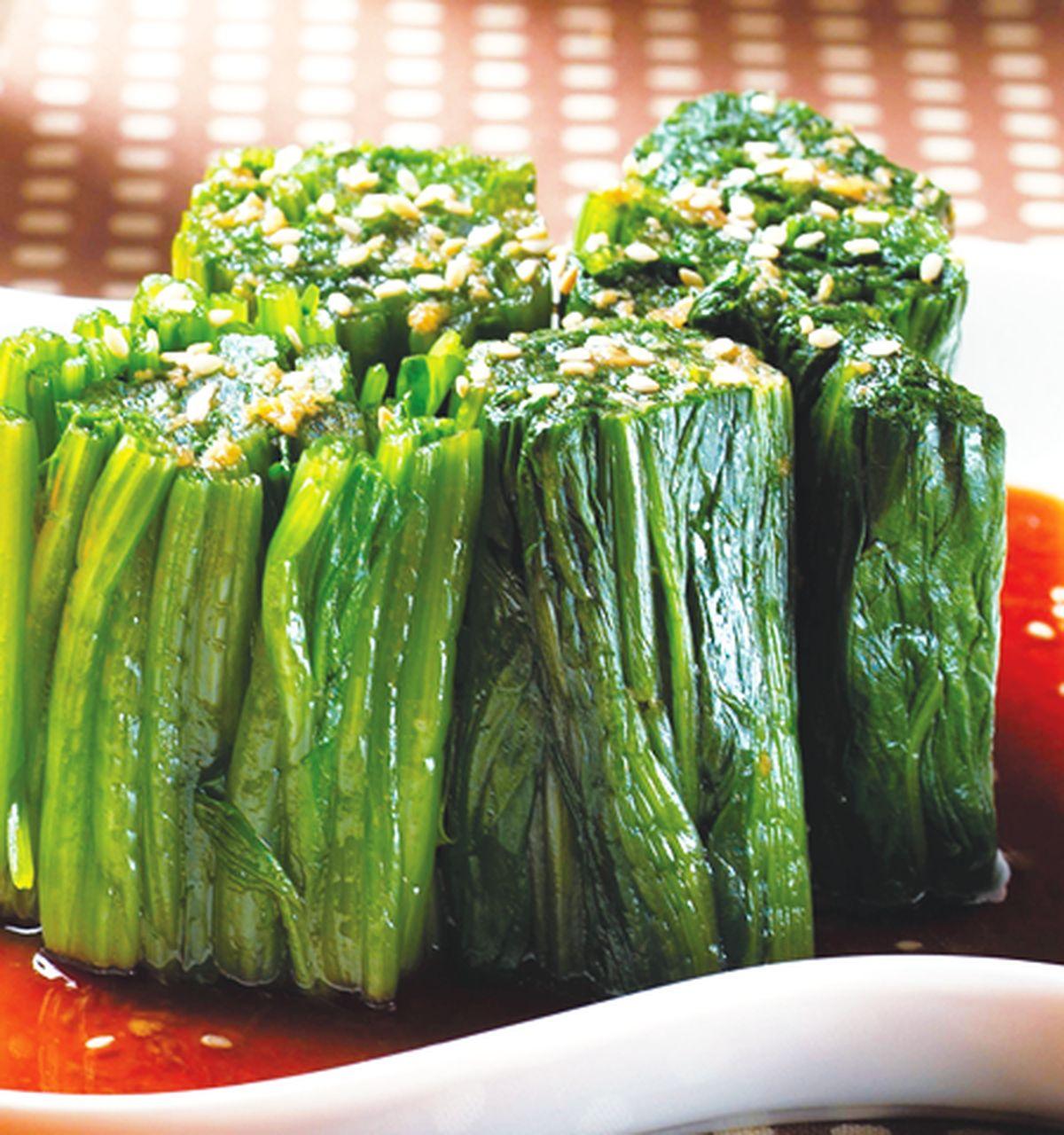 食譜:涼拌菠菜