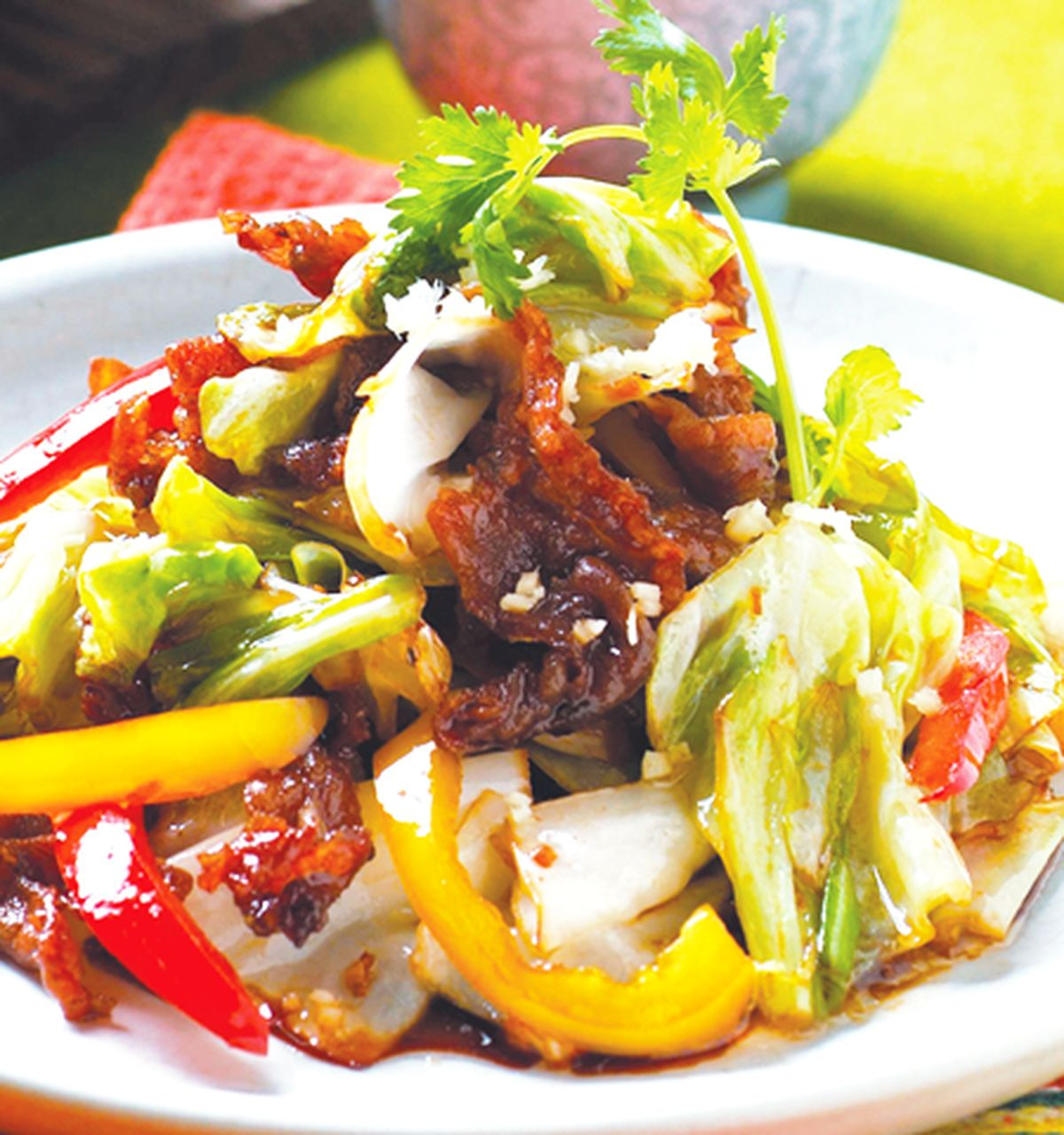 食譜:高麗菜燒肉