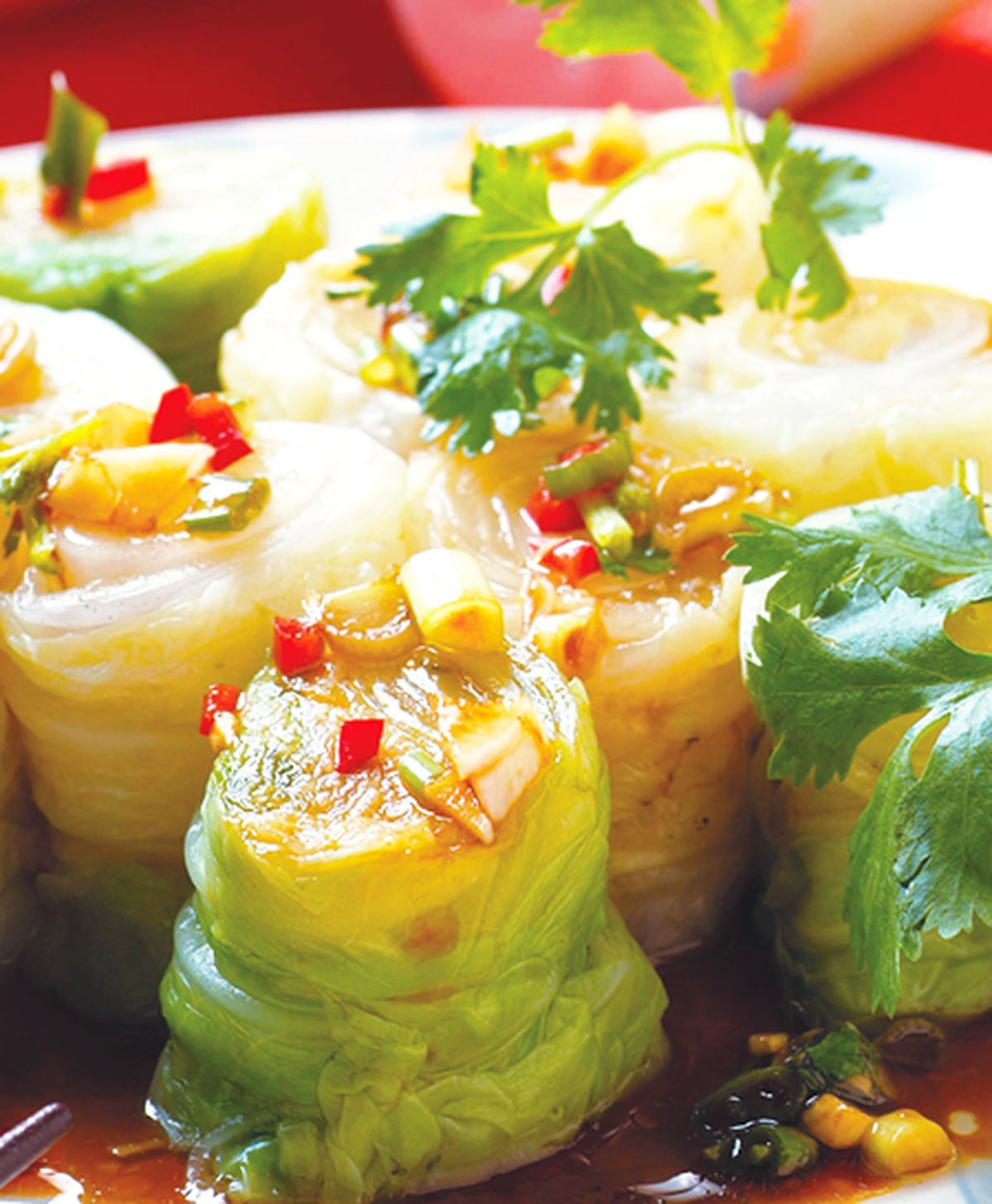食譜:白菜捲