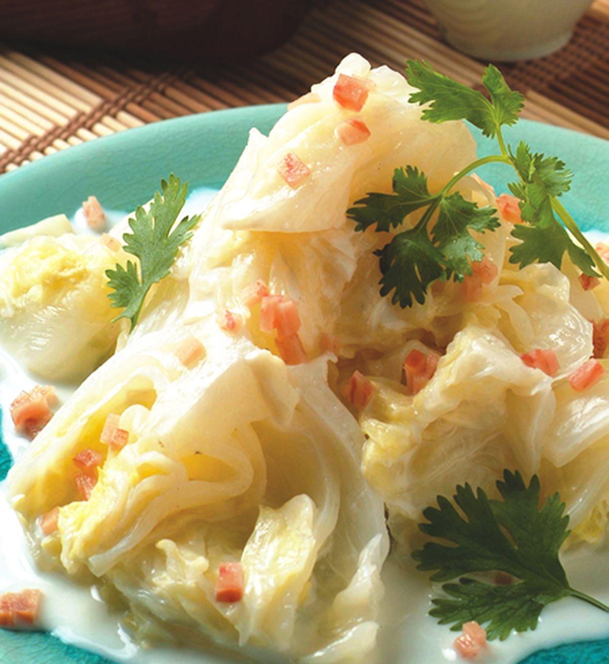 食譜:奶油白菜(1)
