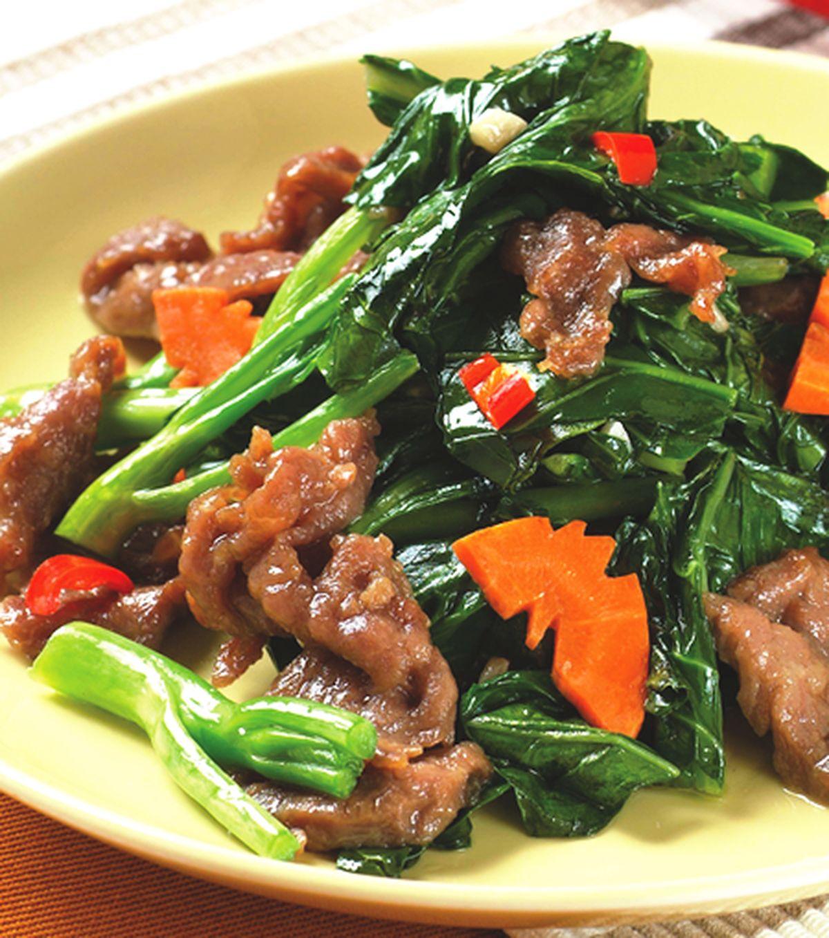 食譜:芥蘭牛肉(1)