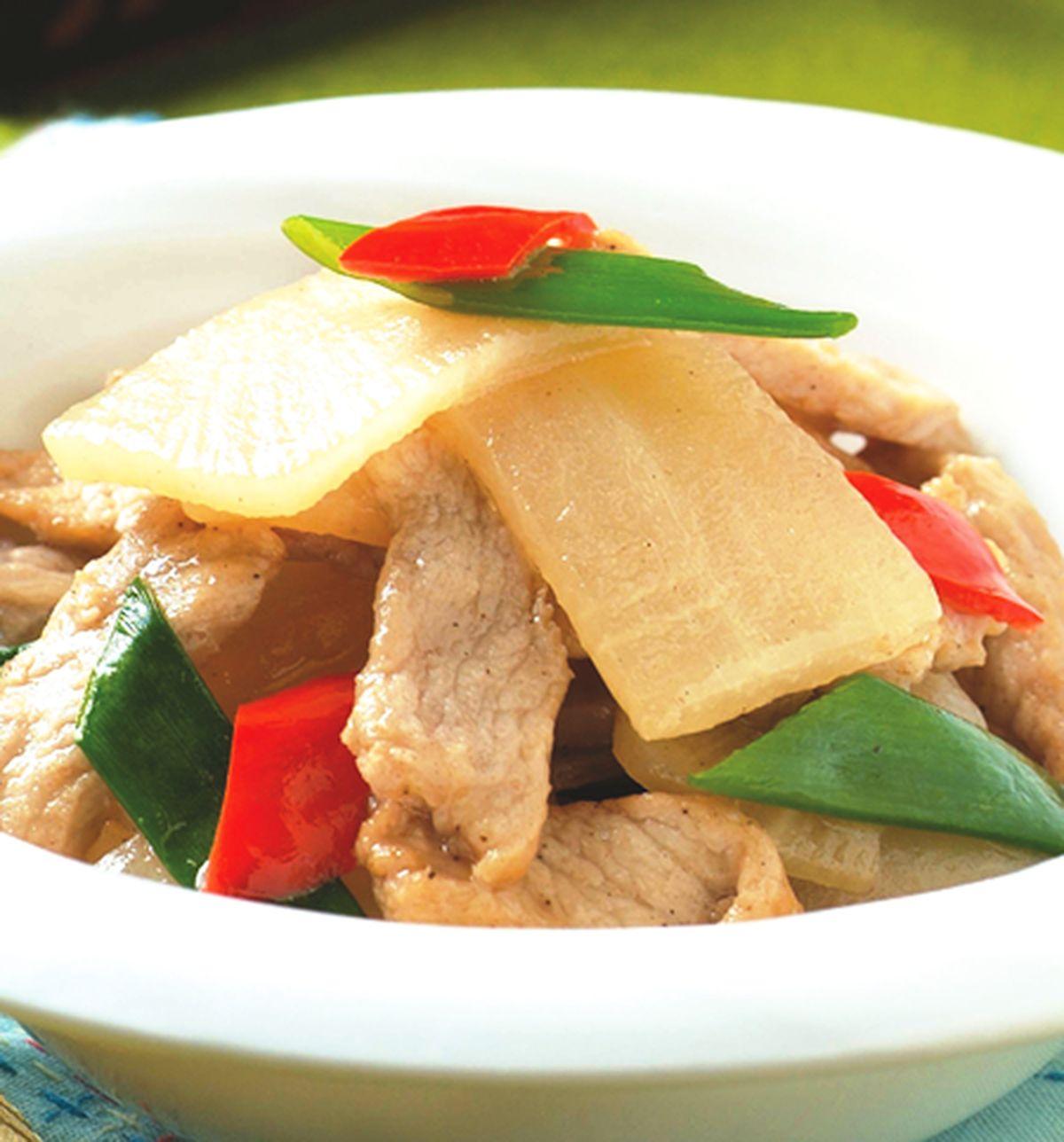 食譜:蘿蔔炒肉
