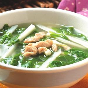 莧菜竹筍湯