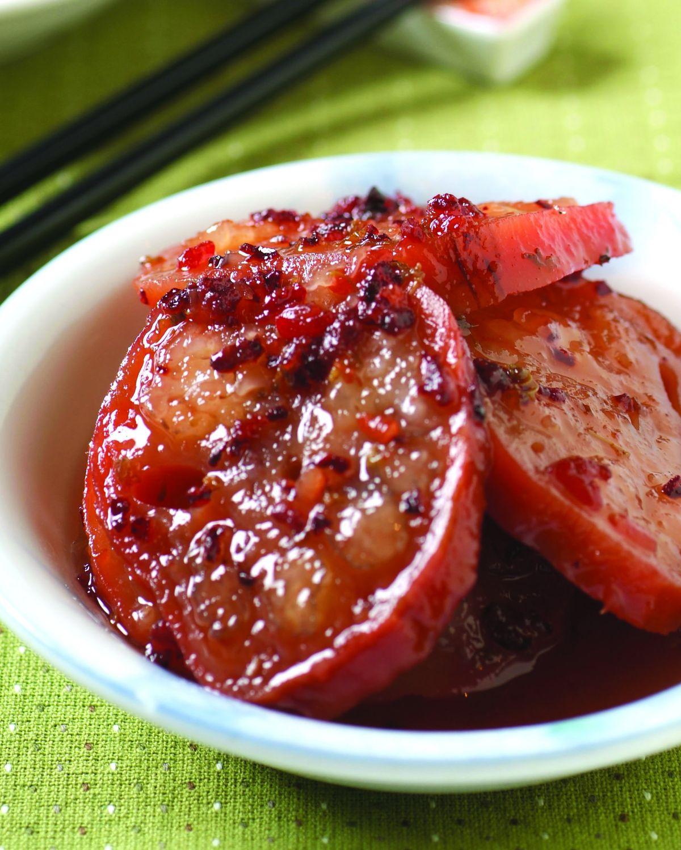 食譜:桂花蓮藕